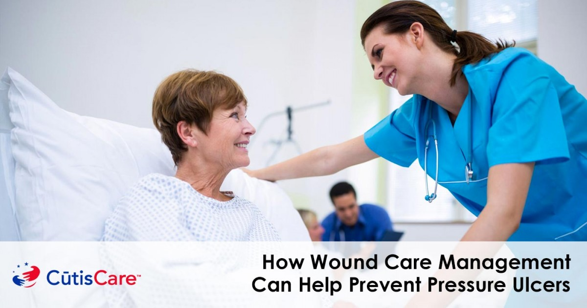wound care management can help prevent pressure ulcers