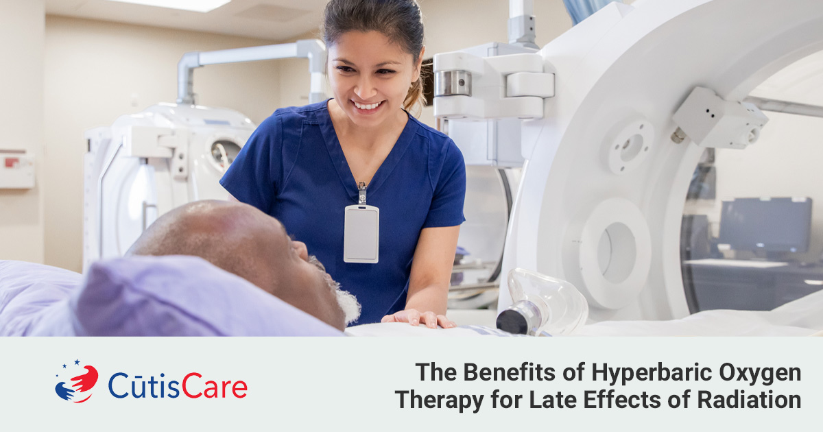 Hyperbaric oxygen therapy helping heal patients with late effects of radiation