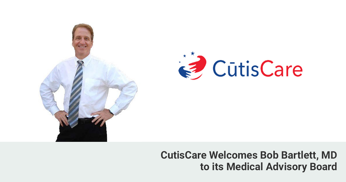 Bob Bartlett, MD joins CutisCareUSA medical advisory board
